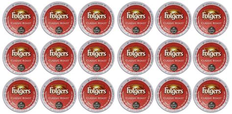 Green mountain coffee roasters currently offers eight decaf k cup coffees. Folgers Gourmet Selections Classic Roast Coffee Keurig K-Cups, 18 Count | eBay