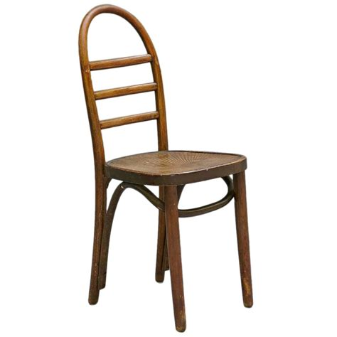 Thonet Bentwood Chair Seat by Thonet Bentwood Ladder Back Chair At 1stdibs