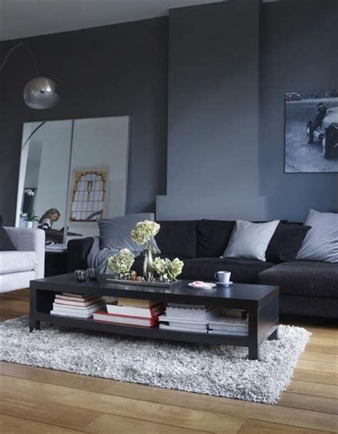 le salon gris  noir comment le decorer archzinefr