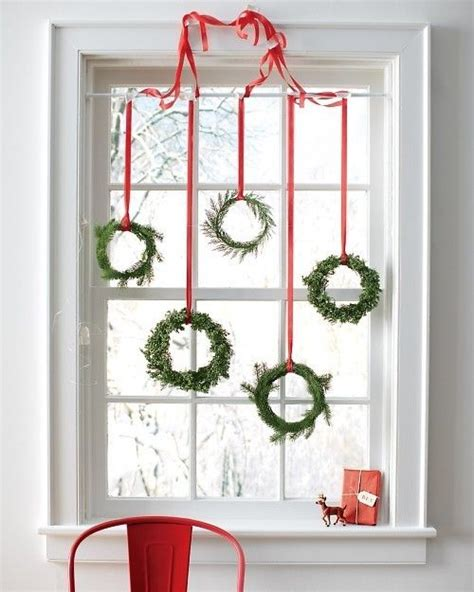 how to hang christmas lights inside windows 70 awesome christmas window décor ideas digsdigs