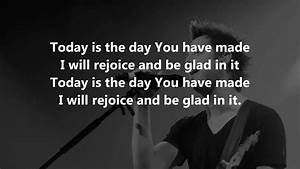 Today Is The Day  Lincoln Brewster  - Lyrics Chords