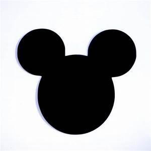 4 Mickey Mouse Head Ears Die Cut Disney's Mickey