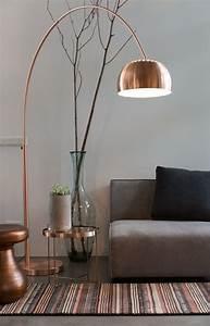 Lampe Rose Gold : lampadaire rose gold ~ Teatrodelosmanantiales.com Idées de Décoration