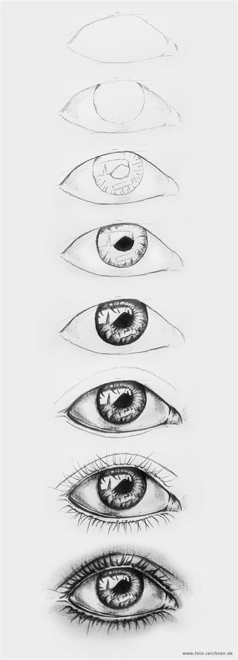 Augen Zeichnen  Schritt Für Schritt