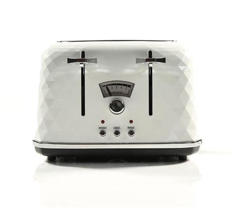 delonghi 4 slice toaster buy delonghi brillante ctj4003 w 4 slice toaster white