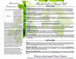 planned giving brochures templates sampletemplatess With planned giving brochures templates