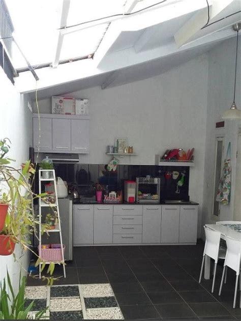 tak nyaman  dapur terbuka  siasatnya properti