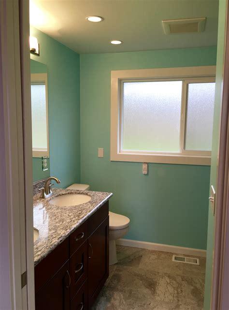Spa Blue Bathroom by Blue Bathroom Walls Sherwin Williams 174 Color Sw 6765 Spa