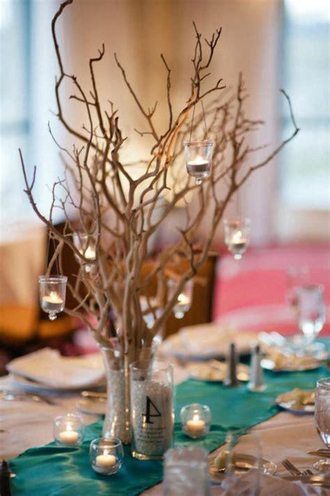 decoration table mariage  idees pour le mariage en hiver