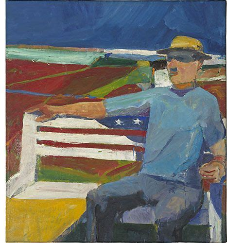 Richard Diebenkorn July 1957 Oil On Canvas People And