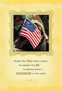 People, Like, You, Military, Appreciation, Card