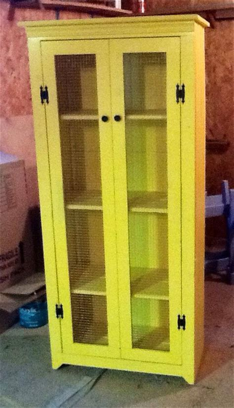 diy kitchen pantry cabinet plans pallet armoire 101 pallets 8767