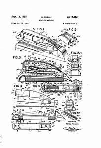 Patent Us2717382 - Stapling Machine