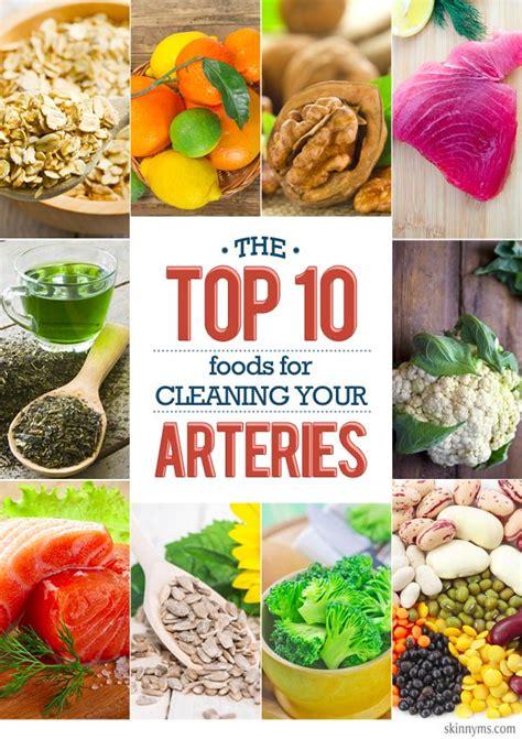 top  foods  cleaning  arteries heart