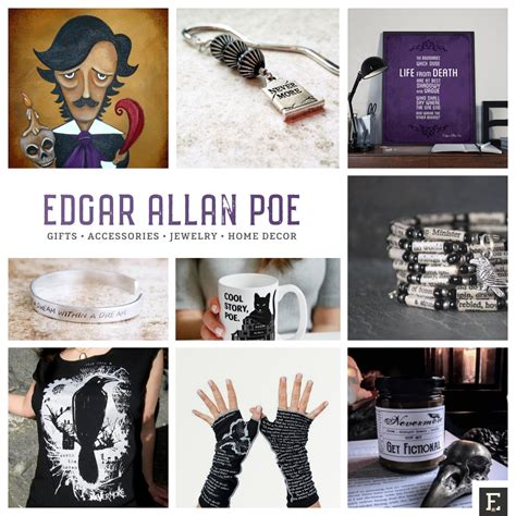 home decor gifts 17 unique gifts and accessories for edgar allan poe fans