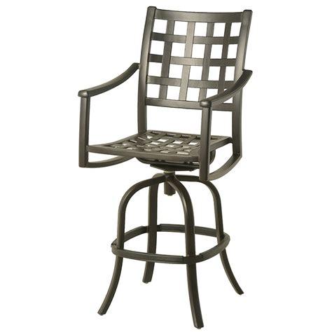 barstool and patio gallery hanamint stratford swivel bar stool