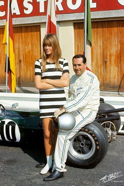françoise dorléac icons jack brabham francoise hardy 1966 italian gp quot beautiful
