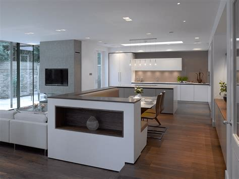 white and grey kitchen designs holt a luxury grey white kitchen from roundhouse design 1742