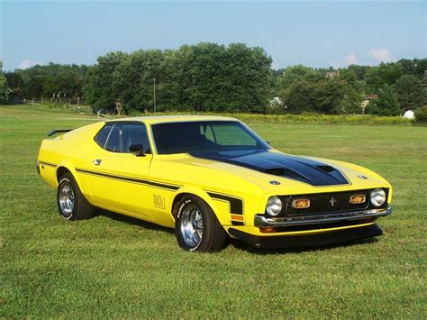 Rocketfoot 1971 Ford Mustang Specs Photos Modification