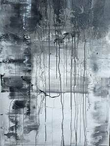 Saatchi Art: 1055 black,grey,white abstract Painting by ...