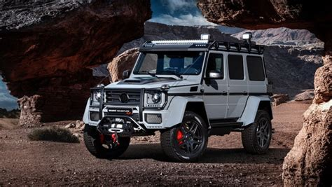 Extreme Gets Extremer As Brabus Tunes The Mercedes G500