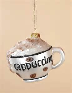 cappuccino christmas ornament cappuccino cup xmas ornaments online ordering