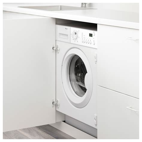 armoire machine a laver renlig integrated washing machine white a ikea