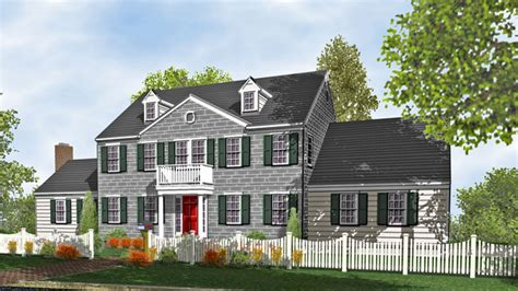 2 colonial house plans colonial style homes colonial two home plans for