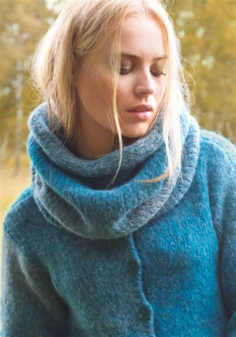 lana grossa jacket garzato fleece degrade filati   fallwinter  english