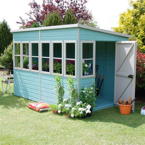 sun pent pent shiplap wooden shed departments diy