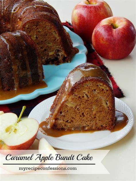 Caramel Apple Bundt Cake My Recipe Confessions