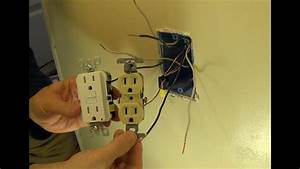 How To Connect Electrical Wire To Outlet