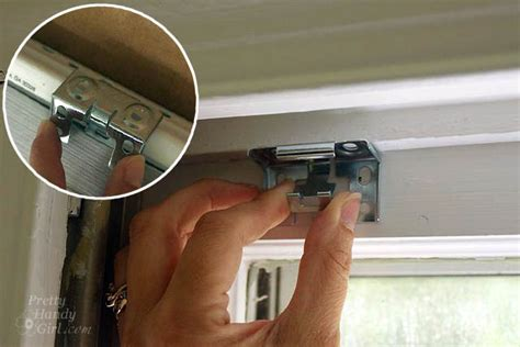 how to remove blinds from window how to install window blinds and curtains lowe s creator