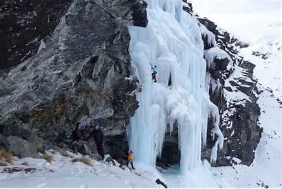 Ice Climbing Course Waterfall Zealand Staples Dean