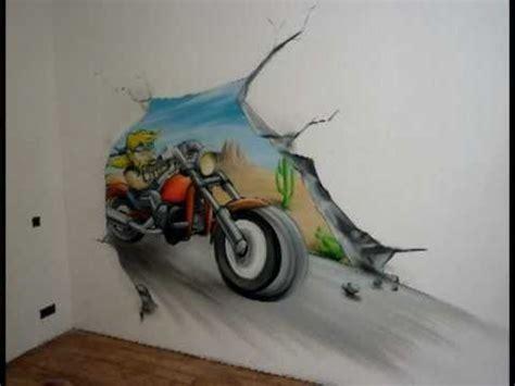 vmc dans une chambre aérosoleil graff décoration fresque murale quot moto biker