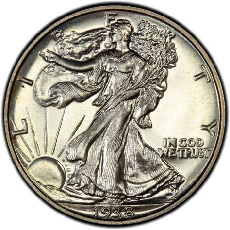 walking liberty half dollar 1938 walking liberty half dollar values and prices past sales coinvalues com