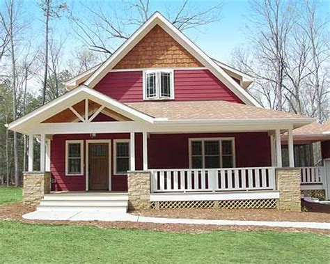 Simple House Plans With Porches by 457 Best Craftsman Homes Images On
