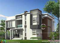 modern home design January 2016 - Kerala home design and floor plans