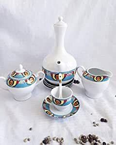 The coffee ceremony begins with the host, always female, spreading an assortment of fresh grasses and flowers on the floor and table. Amazon.com   Ethiopian Angel art Collection 23-Piece Coffee Ceremony Set: Coffee Serving Sets