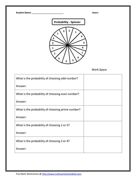 Probability Worksheets Grade 9  Probability Maths Worksheets Ks3math U003d Love Teaching With