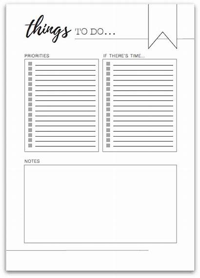 Printable Organisemyhouse Organised Planner Today