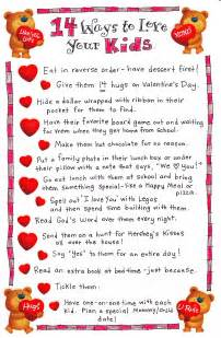 14 Ways to Love Your Kids - Happy Home Fairy