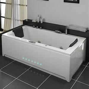 Baignoire Pour Deux : le mot d 39 ordre pour cette baignoire est pur ses ~ Premium-room.com Idées de Décoration