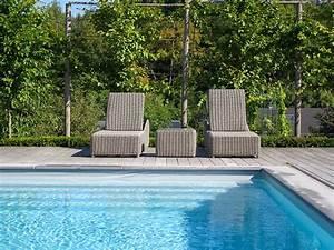 jardin amenagement paysager free jardin amenagement With good amenagement de jardin avec piscine 1 amenagement exterieur les jardins du rempart
