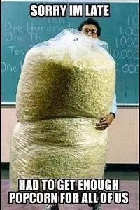 popcorn meme pi... Good Popcorn Quotes