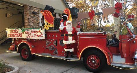 santa truck city  turlock fire departmentabout