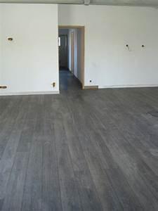 galerie photo parquet et terrasse bois atelier wilmart With parquet stratifié sol chauffant