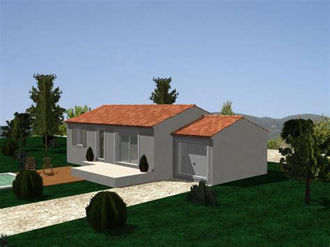 chambre des metiers du rhone villa sur plan modèle amaryllis 70 m2 à construire dans