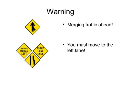 Signs, Signals, And Road Markings