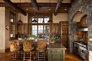 Rustic Italian Kitchens CeardoinPhoto